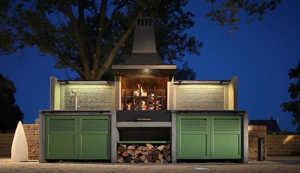 Outdoor Küche Kaufmann : Garten grill küche t bonerust kaminbau